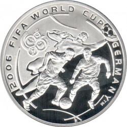 Moneda > 100dram, 2004 - Armenia  (Copa del Mundo de Fútbol - Alemania 2006) - reverse