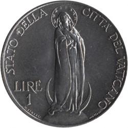Moeda > 1lira, 1933 - Cidade do Vaticano  - reverse
