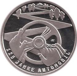 Moeda > 10euro, 2011 - Alemanha  (125 Anos do Automóvel ) - reverse
