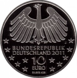 العملة > 10 يورو , 2011 - ألمانيا  (100th Anniversary of Hamburger Elbtunnel) - reverse