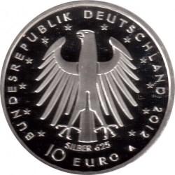 Moneda > 10euros, 2012 - Alemania  (300º Aniversario - El nacimiento de Federico II) - obverse