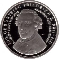Moneda > 10euros, 2012 - Alemania  (300º Aniversario - El nacimiento de Federico II) - reverse