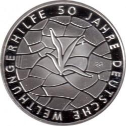 سکه > 10یورو, 2012 - آلمان  (50th Anniversary of German Welthungerhilfe) - reverse