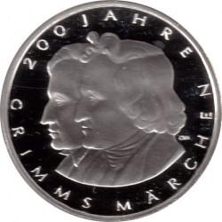 Moeda > 10euro, 2012 - Alemanha  (Bicentenário dos Contos de Grimm) - reverse