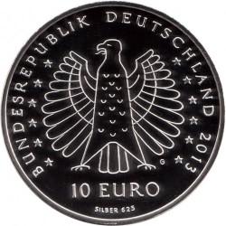 Moneda > 10euros, 2013 - Alemania  (125º Aniversario de la  electrocución - Heinrich Hertz) - obverse