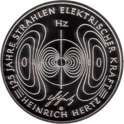 Moneda > 10euros, 2013 - Alemania  (125º Aniversario de la  electrocución - Heinrich Hertz) - reverse