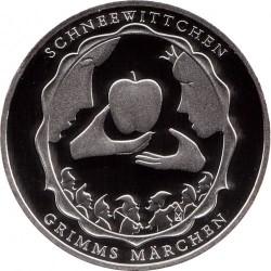 Moneda > 10euro, 2013 - Alemanya  (Contes de fades dels Germans Grimm - Blancaneus) - reverse