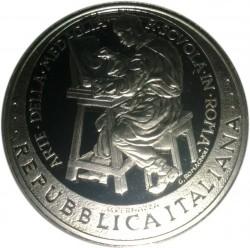 Moneta > 10euro, 2007 - Italia  (100° Anniversario - Zecca di Roma Scuola dell'arte della medaglia) - obverse