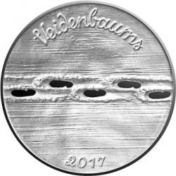 Coin > 2½euro, 2017 - Latvia  (150th Anniversary - Birth of Eduards Veidenbaums /Veidenbaums/) - reverse