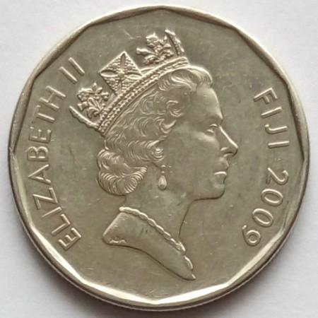 Coin  2010 Fiji Obverse