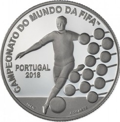 Moneda > 2½euros, 2018 - Portugal  (Copa Mundial de Fútbol de Rusia 2018) - obverse