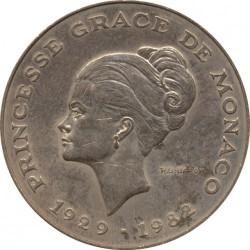 Moneda > 10francos, 1982 - Mónaco  (Muerte de la Princesa Grace) - obverse