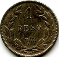 Moneta > 1pesas(banknotas), 1907-1916 - Kolumbija  - reverse