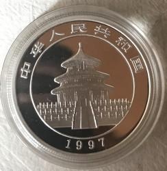 Moneta > 5yuan, 1997 - Cina  (Panda) - obverse