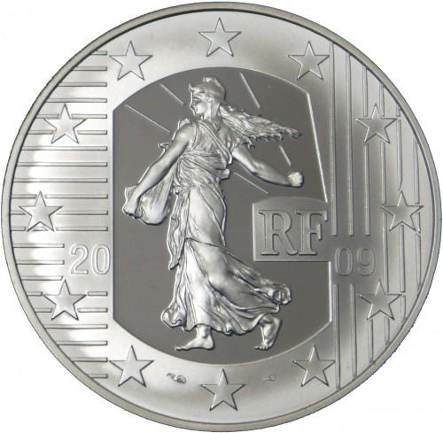 10 Euro 2009 Court Of Human Rights Frankreich Münzen Wert