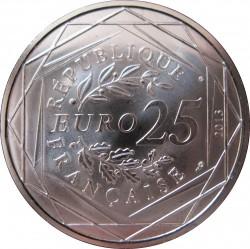 Moneda > 25euros, 2013 - Francia  (República - Justícia) - obverse