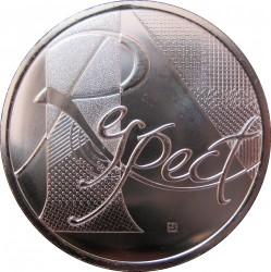 Moneda > 25euros, 2013 - Francia  (República - Respeto) - reverse
