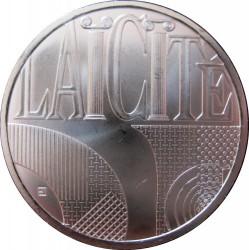 Moneda > 25euros, 2013 - Francia  (República - Laicidad) - reverse
