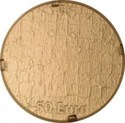Moneda > 50euros, 2012 - Francia  (50 aniversario - Muerte de Yves Klein) - obverse