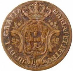 Монета > 5рейса, 1777-1785 - Португалия  - obverse