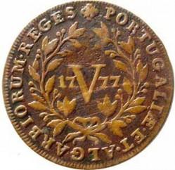 Монета > 5рейса, 1777-1785 - Португалия  - reverse