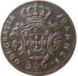 Монета > 5рейса, 1812-1814 - Португалия  - obverse
