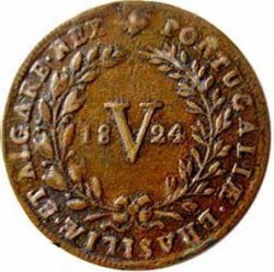Монета > 5рейса, 1818-1824 - Португалия  - reverse
