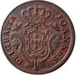 Монета > 10рейса, 1812-1813 - Португалия  - obverse