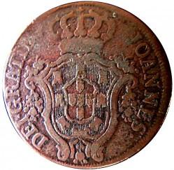 Монета > 20рейса, 1800 - Португалия  (Диаметър 37мм) - obverse