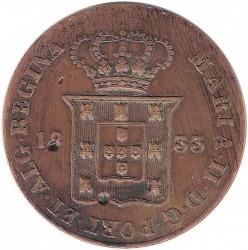 Mynt > 20reis, 1833 - Portugal  - obverse