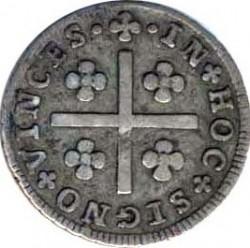 "Монета > 50рейса, 1799 - Португалия  (Lettering ""JOANNES D G P PORTUGALAE ET ALG"") - reverse"