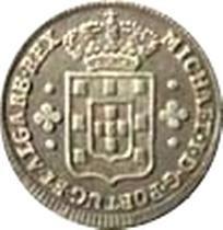 Монета > 60рейса, 1828 - Португалия  - obverse