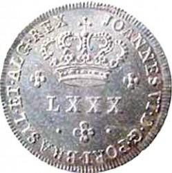 Νόμισμα > 80Ρέις, 1816 - Πορτογαλία  - obverse