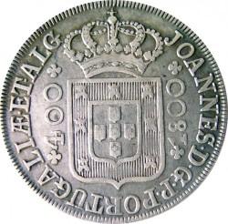 Νόμισμα > 400Ρέις, 1799-1801 - Πορτογαλία  - obverse