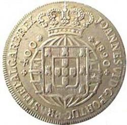 Mynt > 400reis, 1818-1825 - Portugal  - obverse