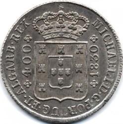 Mynt > 400reis, 1828-1833 - Portugal  - obverse