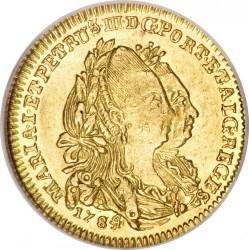 Монета > ½eскудо, 1777-1784 - Португалия  - obverse