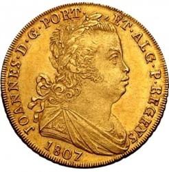 Монета > ½eскудо, 1805-1807 - Португалия  - obverse