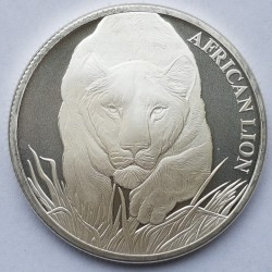 Coin > 5000 francs, 2017 - Chad  (Lion) - obverse
