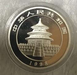 Moneta > 5yuan, 1998 - Cina  (Panda) - obverse