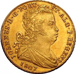 Монета > 1пека, 1805-1815 - Португалия  - obverse