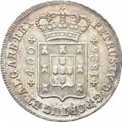 Mynt > 400reis, 1826 - Portugal  - reverse