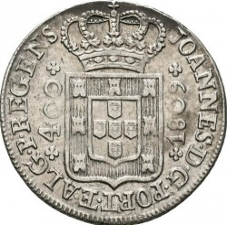 Coin > 400reis, 1802-1816 - Portugal  - reverse