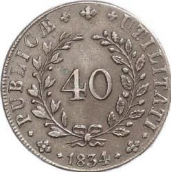 Νόμισμα > 40Ρέις, 1833-1847 - Πορτογαλία  - reverse