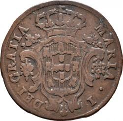 Монета > 5рейса, 1791-1799 - Португалия  - obverse