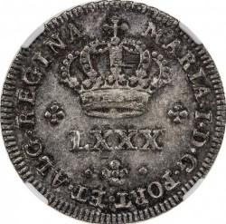 Монета > 80рейса, 1786 - Португалия  - obverse