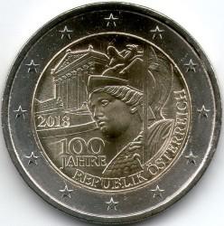 2 Euro 2018 österreich österreich Münzen Wert Ucoinnet