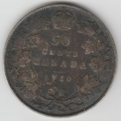 Монета > 50цента, 1902-1910 - Канада  - reverse