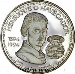 Кованица > 200ескудоа, 1994 - Португал  (600th Anniversary - Birth of Henry the Navigator) - obverse