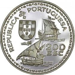 Кованица > 200ескудоа, 1994 - Португал  (600th Anniversary - Birth of Henry the Navigator) - reverse
